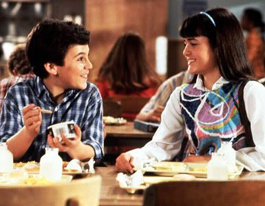 Kevin Arnold and Winnie Cooper. The Wonder Years was the best!