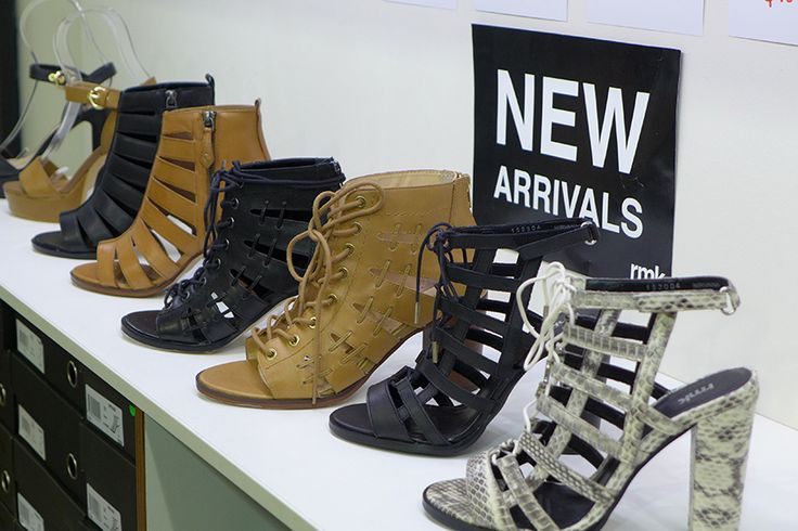 Stand out styles and gorgeous heels now at RMK Shoes, Brand Smart with these new arrivals,  just in time for Spring Racing Carnival.