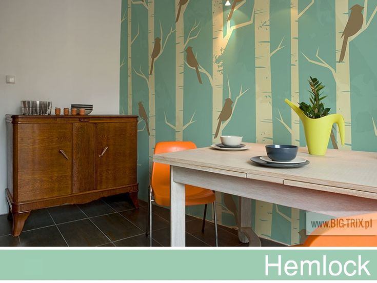 PANTONE 2014: Hemlock forest wallpaper by Big-trix.pl #pantone #pantone2014 #hemlock #wallpaper #forest