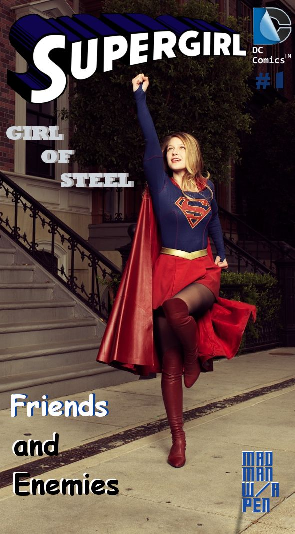With all the Supergirl news over the past two weeks I just felt like honoring Melissa Benoist as our new SG. So I modded one of the Variety magazine pics into a cover for Issue One of my own Girl o...