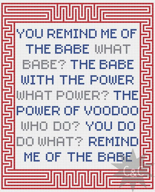 ** Please be aware that this listing is for a cross stitch pattern via download and not a completed sampler**    Featuring the opening lines from