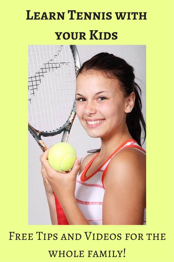 Learn tennis with your kids! Learn the Serve, Forehand, Backhand, Volley, Return, Timing, Balance, Grip, etc. Free tennis tips and videos.