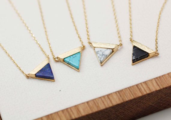 *****This listing is for 1 pc of gemstone necklace only.*****  gemstone, stone, gemstone necklace, stone necklace, woman necklace, bridesmaid
