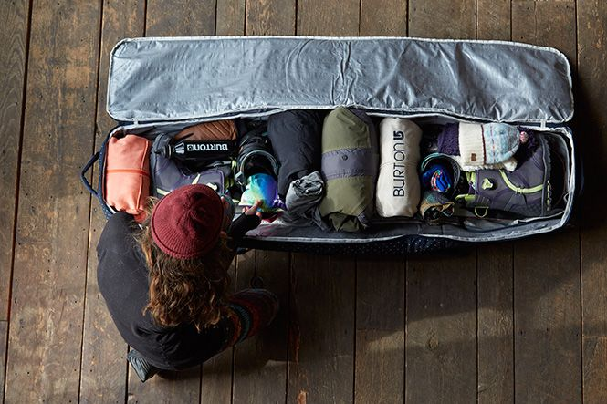 Packing a Snowboard Bag