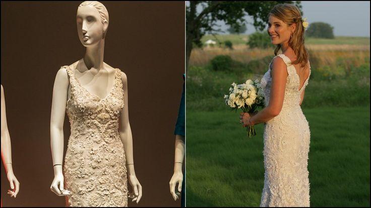 Jenna Bush Hager Wedding Dress