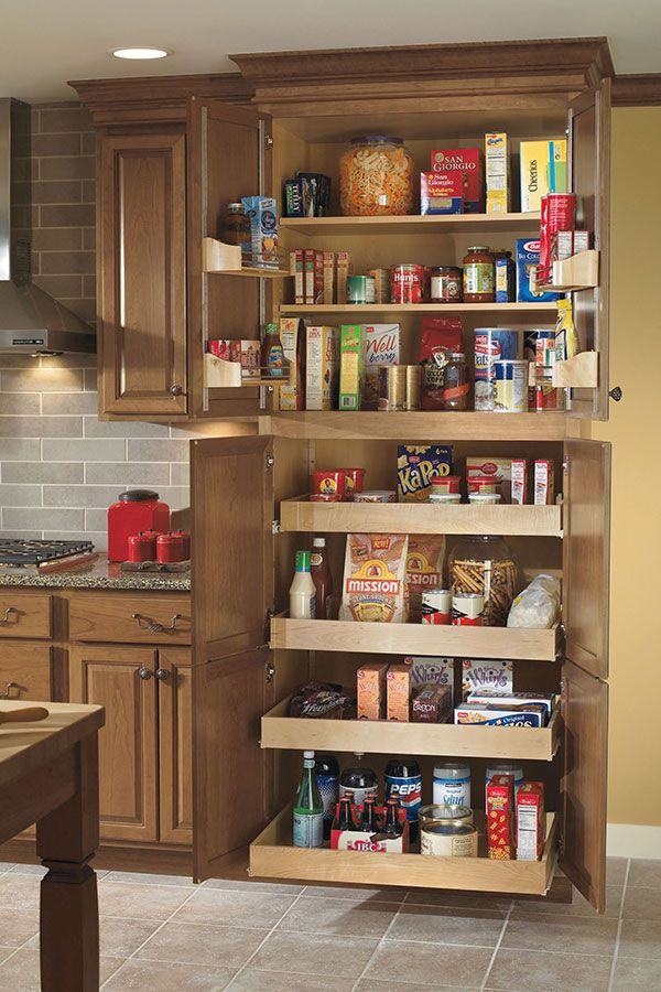 Tall Kitchen Cabinets Pantry Part - 34: Kitchen Reno: Pantry SuperCabinet Provides Easy Access And Storage Space  With 4 Adjustable Roll Trays And 2 Adjustable Door Racks.
