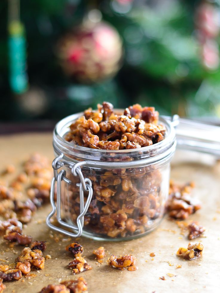 Best Ever Candied Walnuts...the perfect snack, any time of year