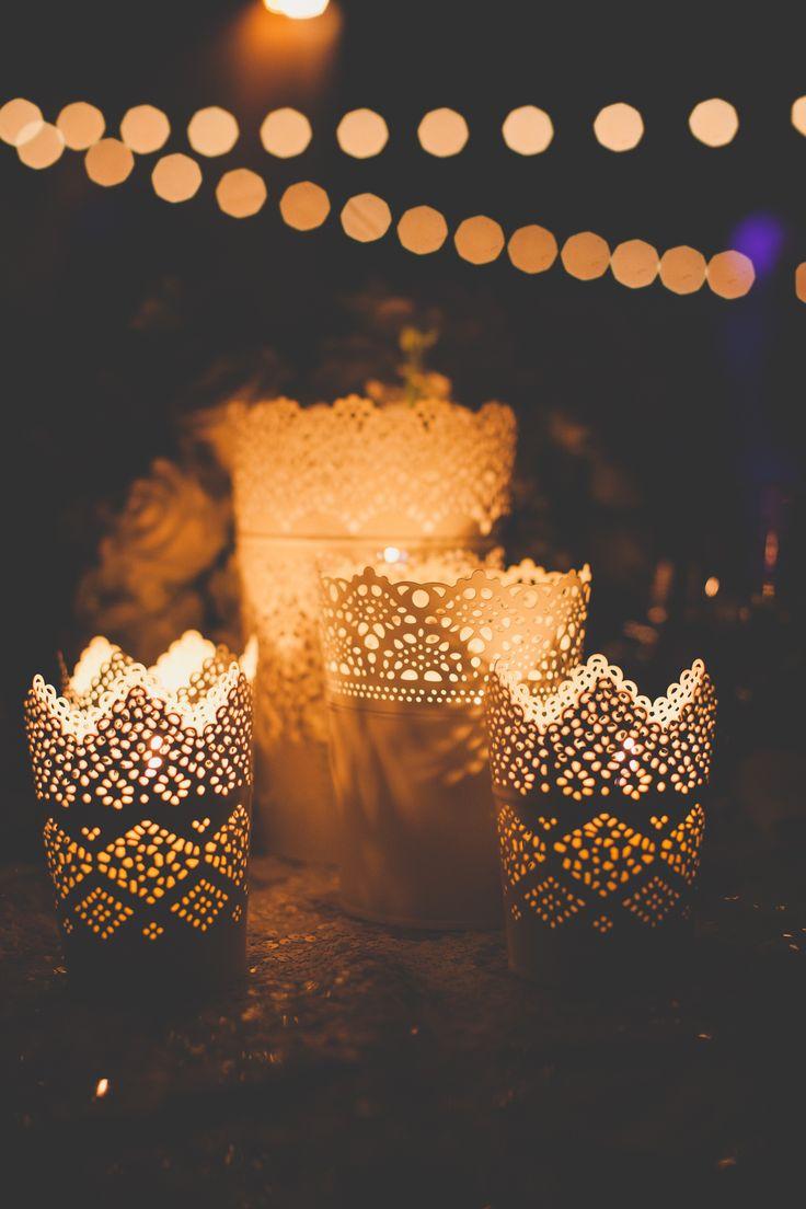 #candle  Photography: Christine Farah Photography - christinefarah.com  Read More: http://www.stylemepretty.com/2014/07/08/glamorous-affair-at-the-london-west-hollywood/