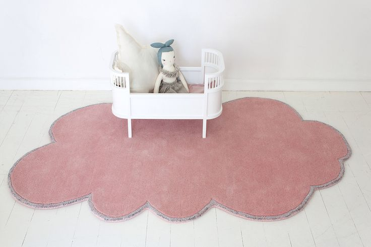 Cloud rug by Little p for little people