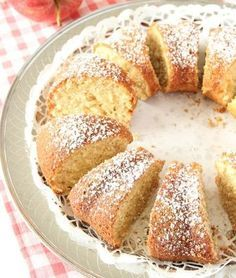 Riven äppelsockerkaka – Lindas Bakskola