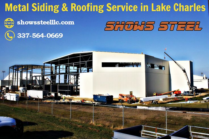 Metal Siding & Roofing Service in Lake Charles
