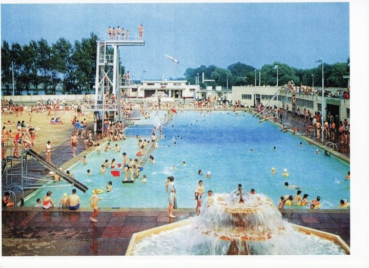 230 best images about lido on pinterest for Portobello outdoor swimming pool