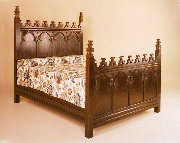 Custom Made Beds Image Gallery: 17 Best Images About Oak Beds, Reproduction On Pinterest
