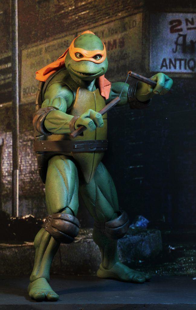 Teenage Mutant Ninja Turtles 1990 Movie Michelangelo 1 4 Sca Teenage Mutant Ninja Turtles Artwork Teenage Mutant Ninja Turtles Movie Teenage Ninja Turtles