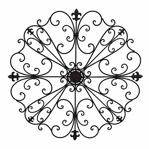 Black Wrought Iron Wall Decor best 25+ wrought iron wall art ideas on pinterest | iron wall art