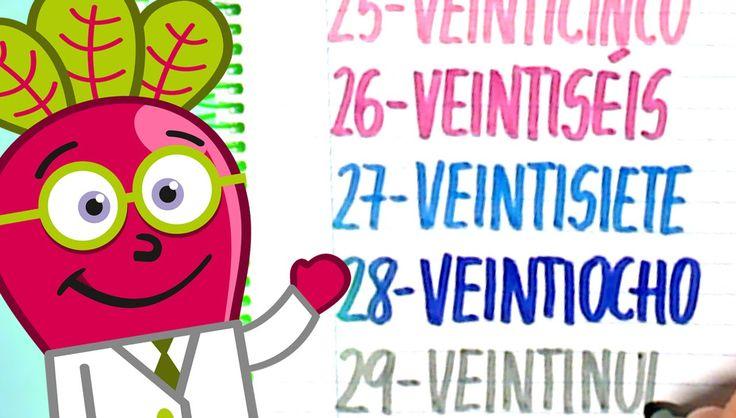 #numeros #para #niños #nivel #inicial #pequeños #hastael30 #escritos #infantil #y #letras #ordinales #actividades #numbers #spanish #21to30 #recursos #educativos #didacticos #educational #resources