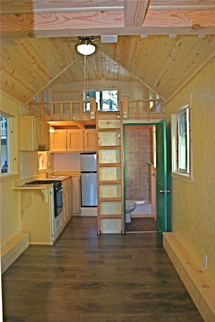 Molecule Tiny Homes note the stair placement