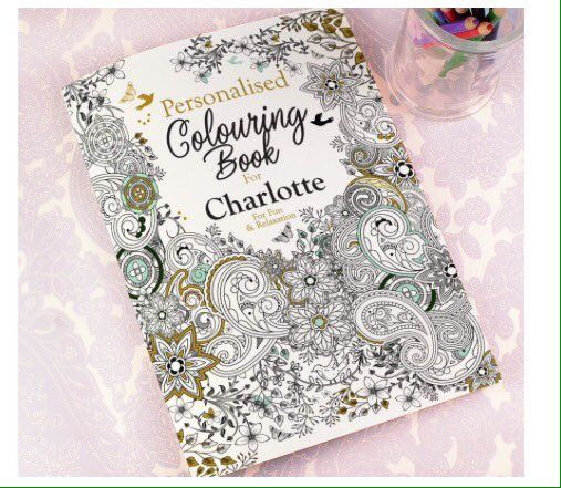 """Di's Home Decor on Twitter: """"Personalised adult colouring book £14 - https://t.co/trJUUpkpvy #colouringbook #wineoclock #xmasgifts #musthave #TuesdayTip #buyonlinehour https://t.co/s4KsJhIQGM"""""""