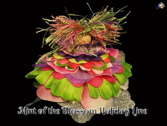 Mint of the Blossom Holiday Line Fairy Faerie OOAK Doll