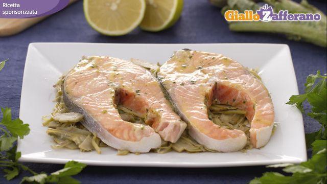 Ricetta Salmone alla limoncina - Le Ricette di GialloZafferano.it
