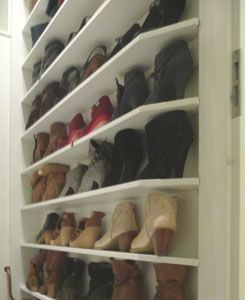 schoenenwand
