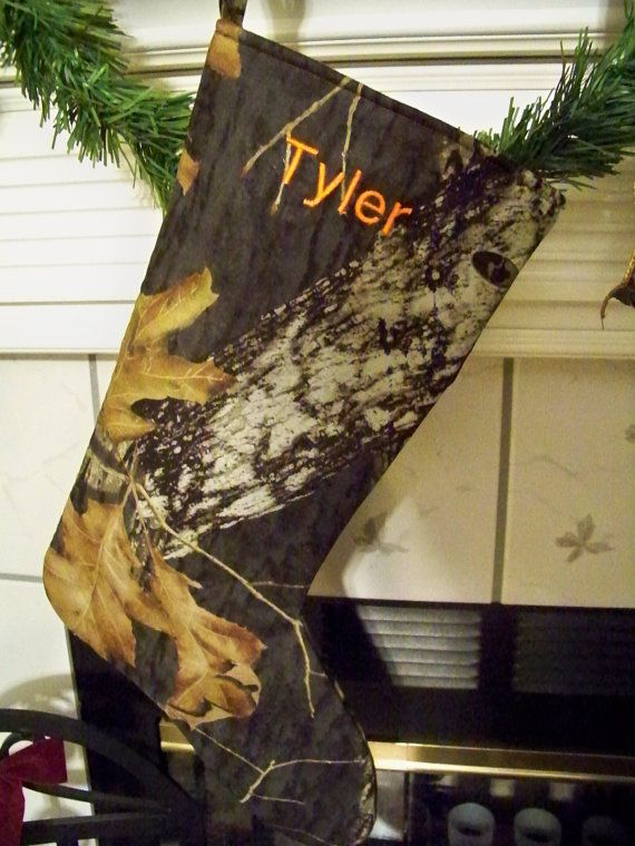 Personalized Camo Quot Real Tree Quot Or Quot Mossy Oak Quot Christmas