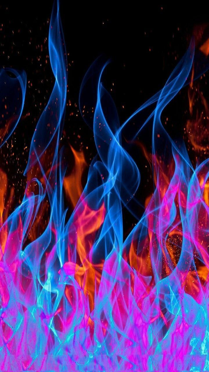 download abstract flames wallpaper