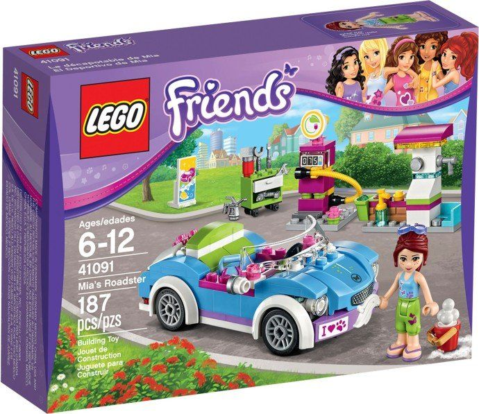 LEGO Friends 41091 kabriolet Mii | MALL.PL