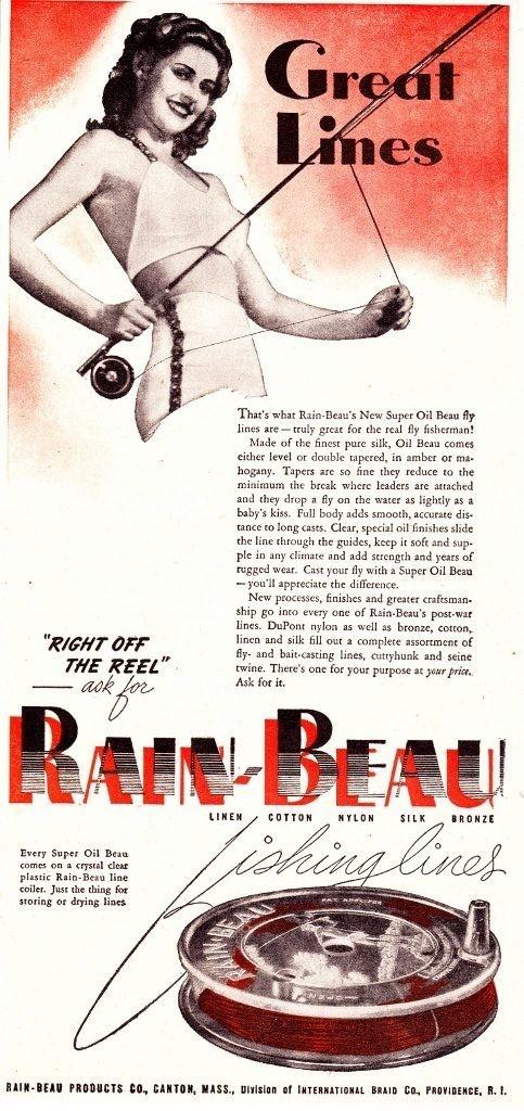 17 Best Images About Vintage Fishing Advertisement Amp Art