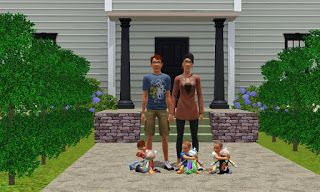 Every Sims Challenge: Stay at Home Dad Challenge. Reviews of sims 3 challenges