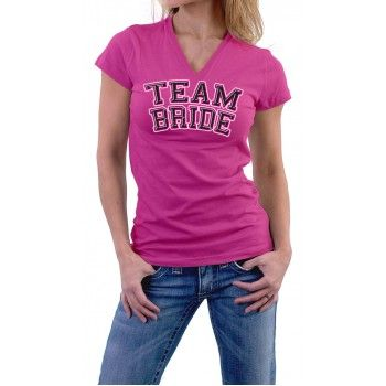 Team Bride Stag and Doe T-Shirt $9.99