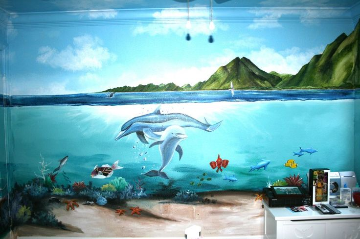Best 25 underwater bedroom ideas on pinterest maldives for Underwater mural ideas