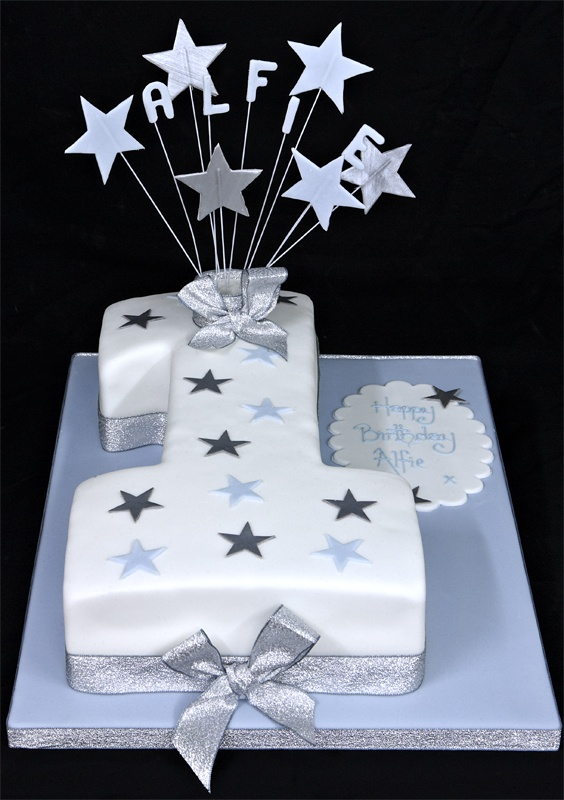 Star Number One Cake
