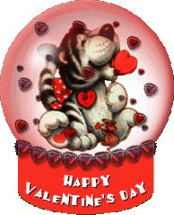 happy valentines day photo: HappyValentineDayGlobeDog HappyValentineDayGlobeDog.gif