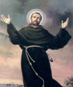 Saint Joseph of Cupertino, O.F.M. Conv., (Italian: San Giuseppe da Copertino) (June 17, 1603 – September 18, 1663) was an Italian Franciscan friar who is honored as a mystic & saint.  He is recognized as the patron saint of air travelers, aviators & poor students.   Feast Day Sept. 18