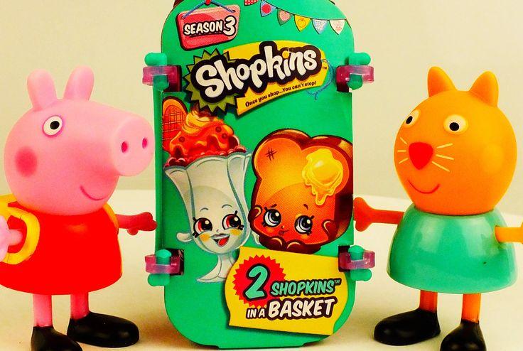 Shopkins Season 3 New Peppa Pig Шопкинс сезон 3 Свинка Пеппа https://www.youtube.com/watch?v=k9A2Pip6Q_0