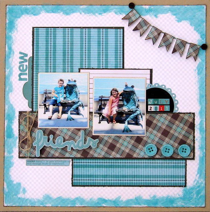 427 Best Scrapbooking Layouts Images On Pinterest Scrapbook