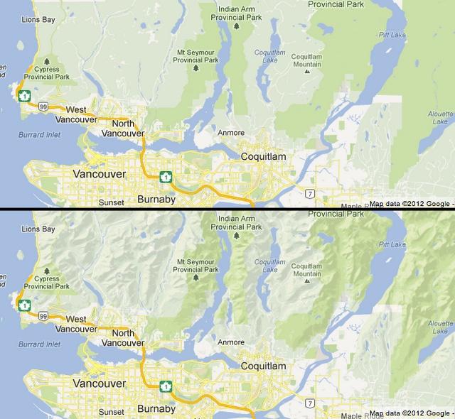 Update Google Maps