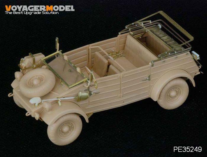 Panzer II, Kubelwagen & Brummbar Detail Set Review by Luke Pitt (Voyager 1/35)