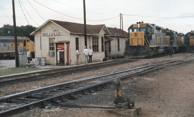 Train Depot in Bellville, TX