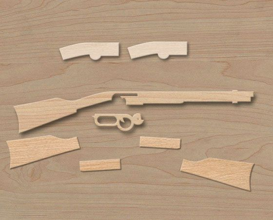 How to Carve Wooden Guns picture