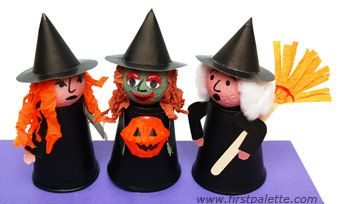 avec matériel de récup halloween bricolage facile  Halloween ...