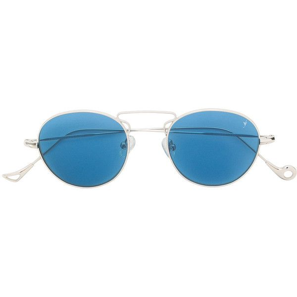 Eyepetizer Halles sunglasses (3.133.565 VND) ❤ liked on Polyvore featuring accessories, eyewear, sunglasses, blue, blue sunglasses, unisex sunglasses, unisex glasses, metal sunglasses and metal glasses