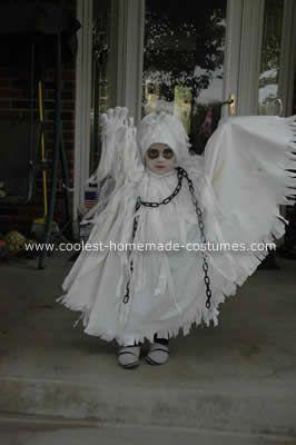 Kenzie's costume (Spooky Ghost Halloween Costume)