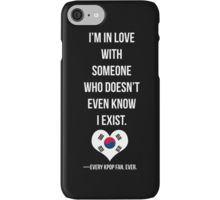 The Kpop Fan problem iPhone Case/Skin