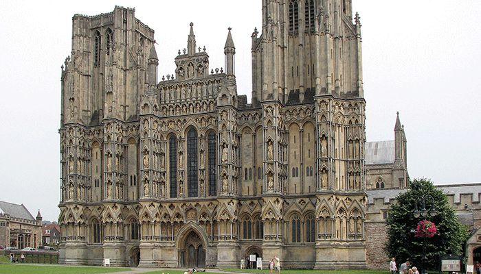 готика архитектура картинки