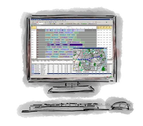 Concrete Planner - For optimisation of dstribution processes in the cement and concrete industry