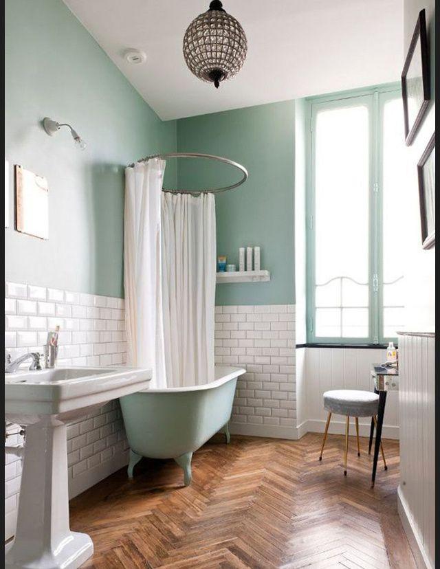 Exceptionnel Les 25 meilleures idées de la catégorie Salle de bains pastel sur  KP48