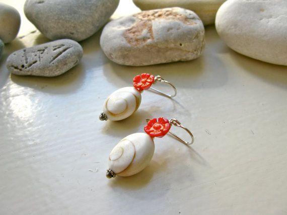 Eye of the Sea St. George medium earrings