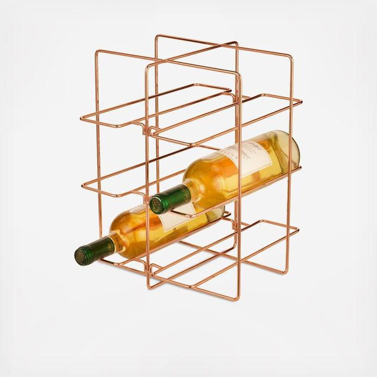 Copper has a long history of use in the kitchen, but never before has it looked so modern. The designers have transformed this common material into attractive, functional organization items you'll want to display. Lincoln storage pieces combine classic copper-finished metal with simple lines and minimalist shapes to help you tidy up your space in style.